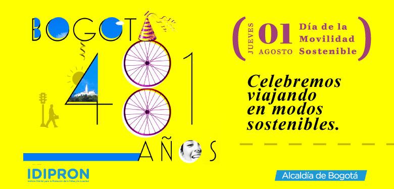 01 de Agosto, Día de la movilidad sostenible