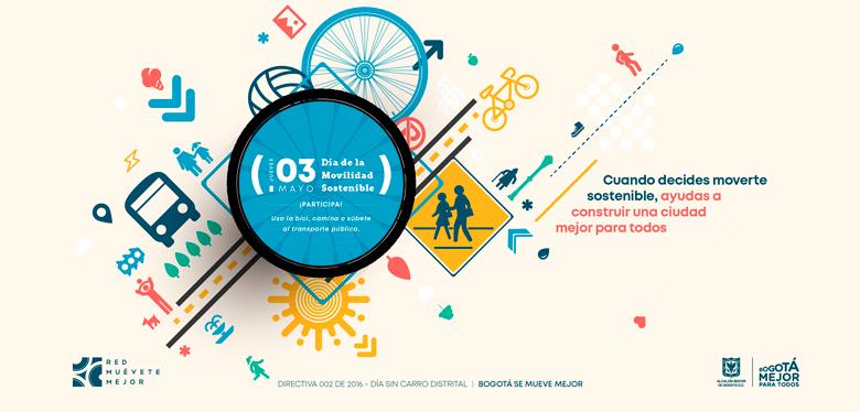 Movilidad sostenible este 3 de mayo. Participa