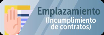 Imagen enlace Información Emplazamiento - Incumplimiento de Contratos