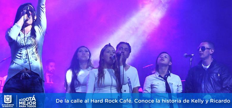 De la calle al Hard Rock Café. Conoce la historia de Kelly y Ricardo