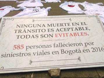Imágen Con Cultura Ciudadana jóvenes del IDIPRON le recordaron a los bogotanos que los accidentes en las vías son evitables