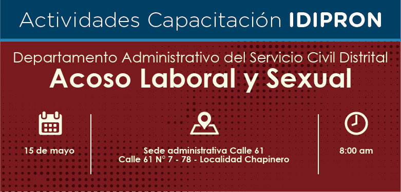 Capacitación Acoso Laboral y Sexual 15 de mayo