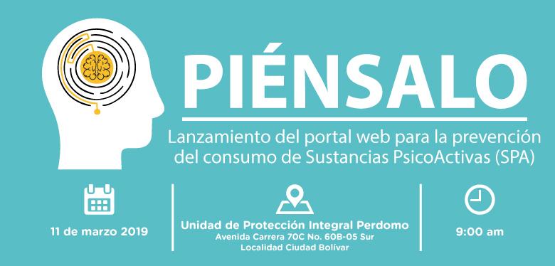 11 de marzo lanzamiento portal prevención del consumo de sustancias psicoactivas