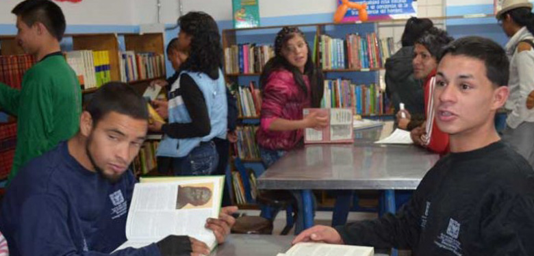 Beneficiarios de biblioteca por parte de upi oasis