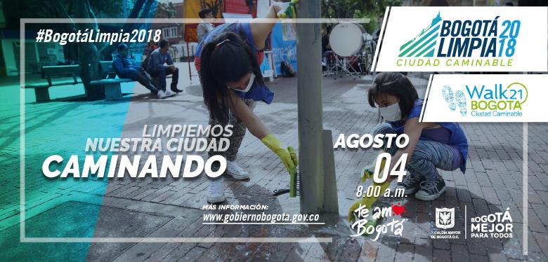 Bogotá limpia 2018