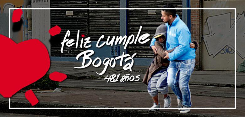Celebración cumpleaños 481 Bogotá