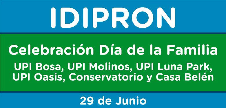 Texto Celebración Día de la Familia UPI Bosa, Molinos, Casa Belén