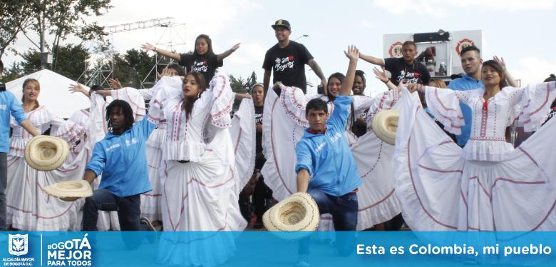 Esta es Colombia, mi pueblo