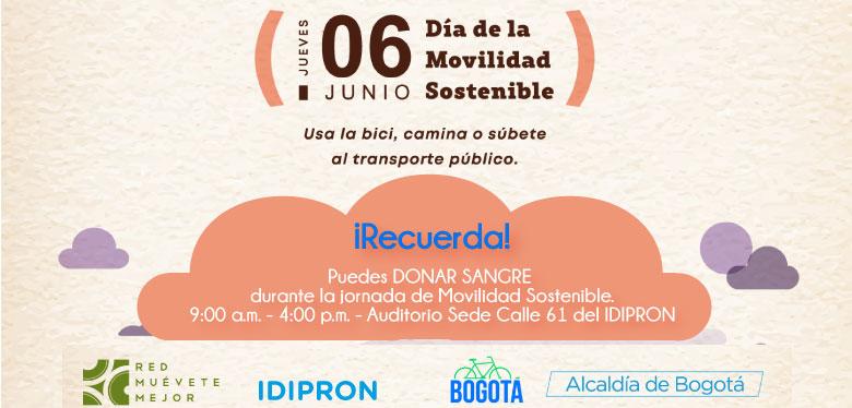 Día de la movilidad sostenible Junio - Jornada de donación de sangre