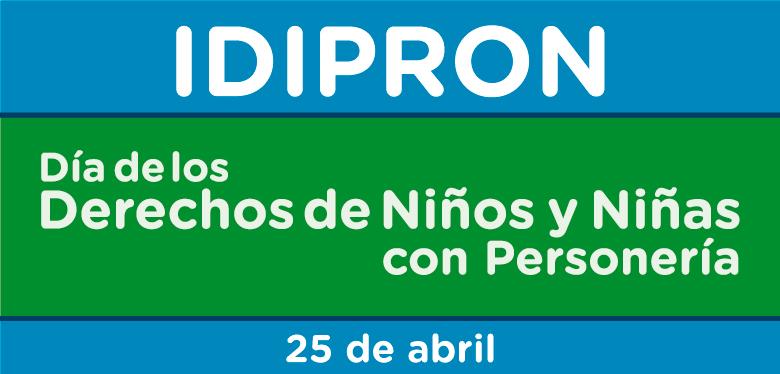 25 de abril, día de los derechos de niñas y niños con personería