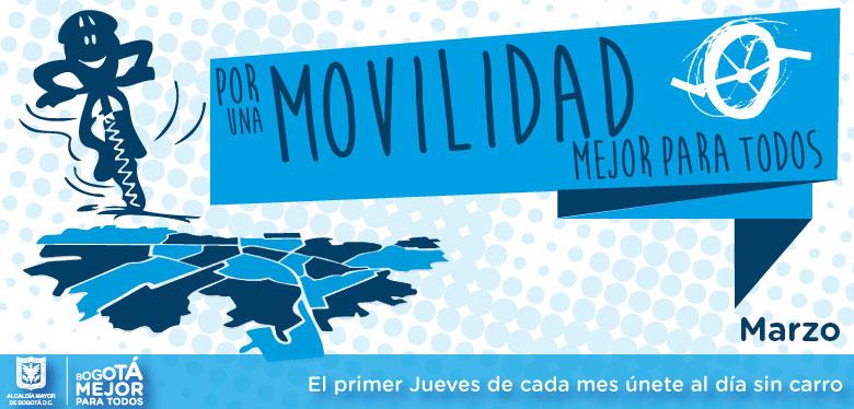 2 de marzo, únete por una movilidad para todos