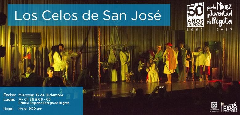 Invitación Obra teatral los celos de San José