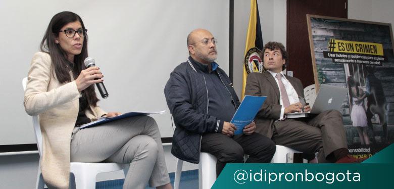 Director del IDIPRON Wilfredo Grajales en foro ESCNNA
