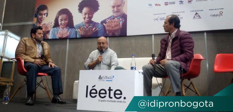 Director Wilfredo Grajales en conversatorio feria del libro Libro Javier De Nicoló
