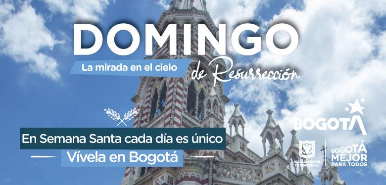 Domingo de resurrección Bogotá