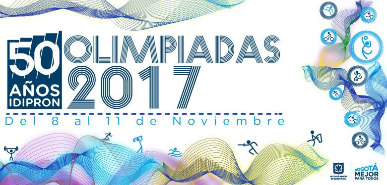 Olimpiadas IDIPRON 2017