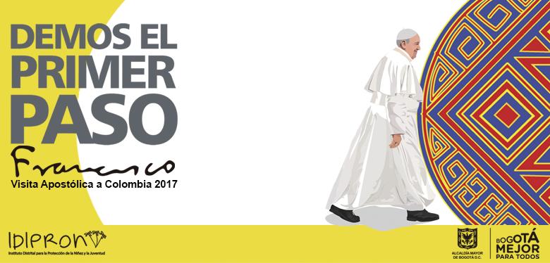 Imágen visita apostólica Papa Francisco 2017