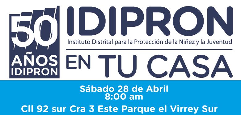 Invitación a Feria de servicios 28 de abril 2018 localidad USME