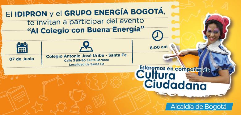 Invitación 7 de junio IDIPRON Y Grupo Energía Bogotá