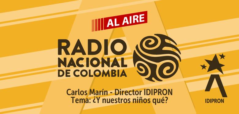 Banner audio Carlos Marín Entrevista Radio UN