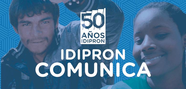 IDIPRON informa a la ciudadanía