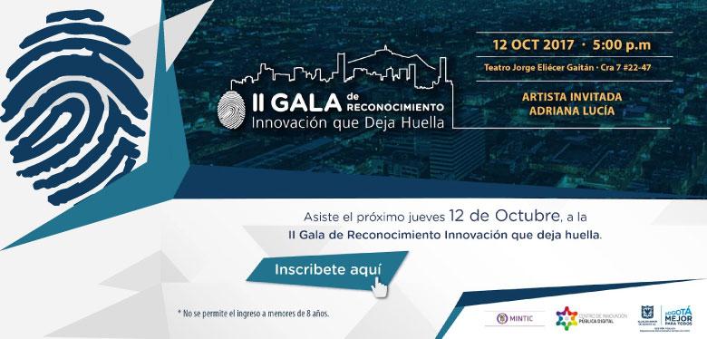 II Gala de Reconocimiento Innovación que deja Huella