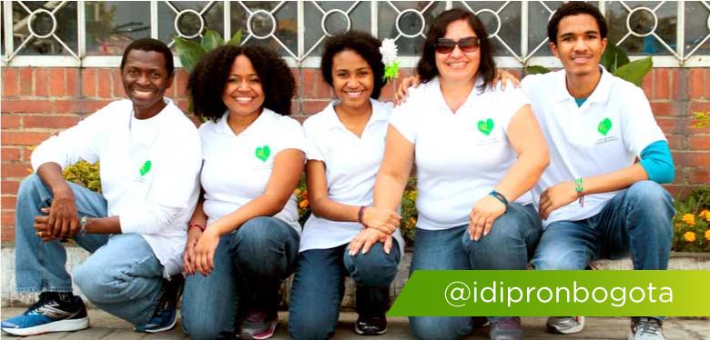 Integrantes Grupo H en el IDIPRON
