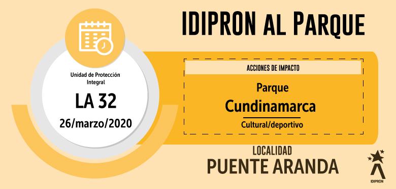 IDIPRON AL PARQUE - Parque Cundinamarca