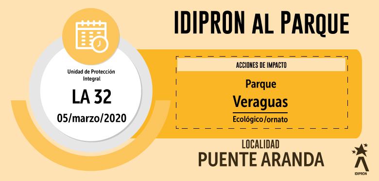 IDIPRON se toma Parque Veraguas - UPI La 32