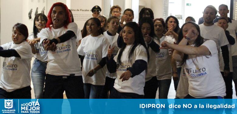 Imágen Idipron dice no a la ilegalidad