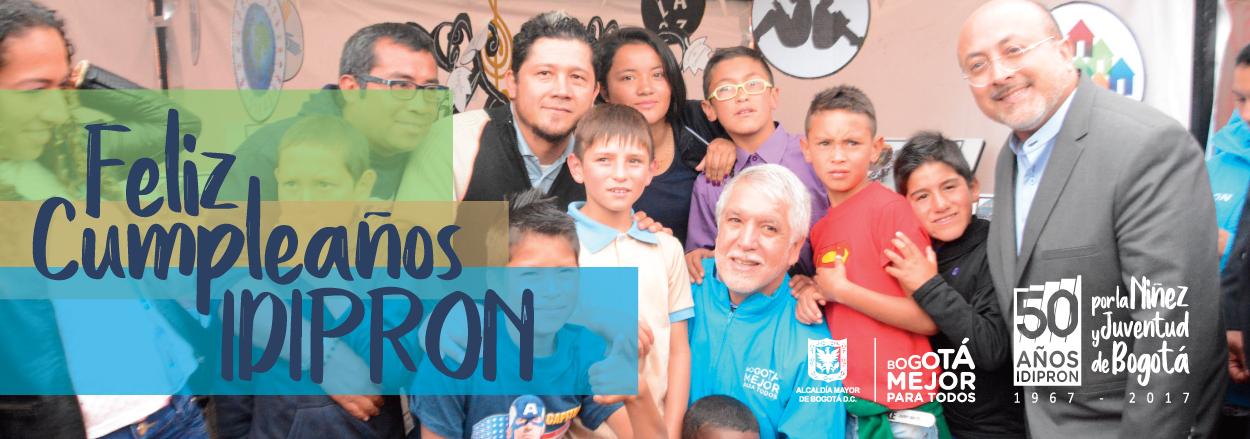 """""""El IDIPRON es la oportunidad para los que no tienen oportunidades""""."""