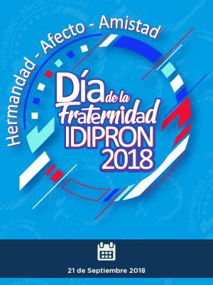 Banner día de la fraternidad IDIPRON 2018