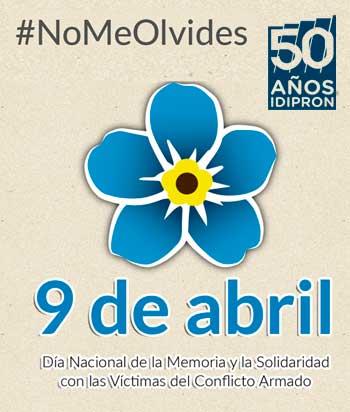 Entérese aquí día nacional de la memoria con las víctimas