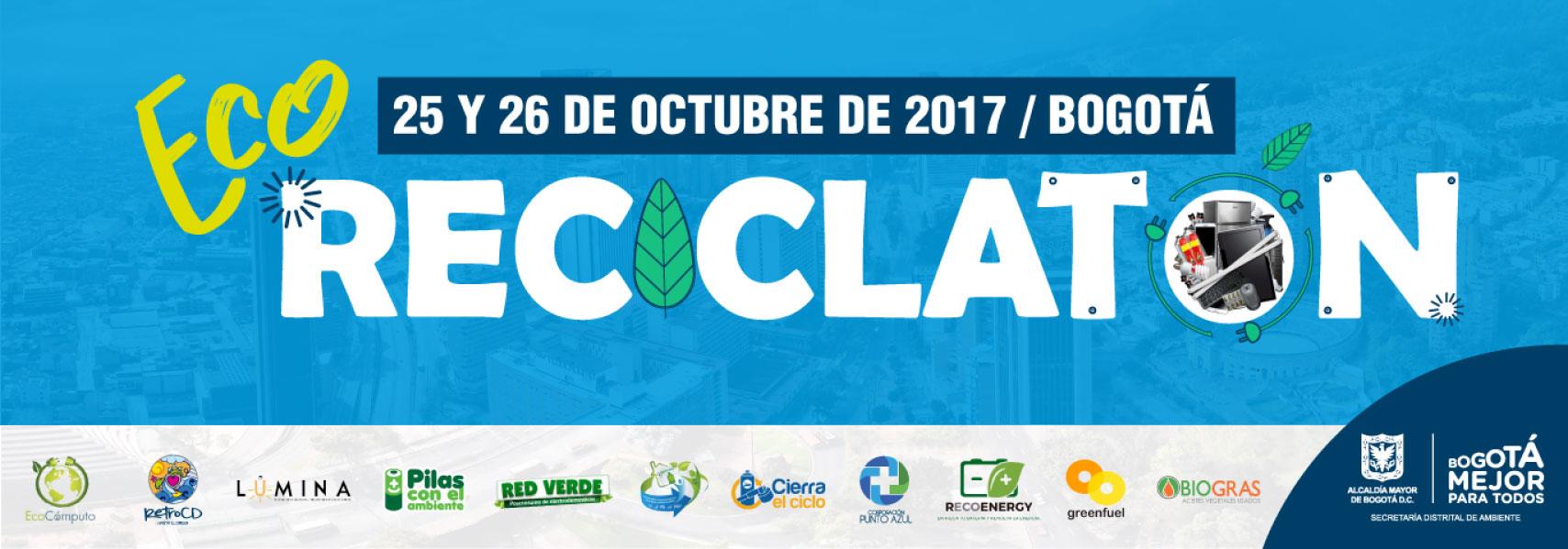 ECO Reciclatón 2017 - Mayor información Aquí