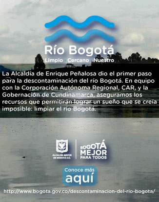 Conoce más acerca de la descontaminación del río Bogotá