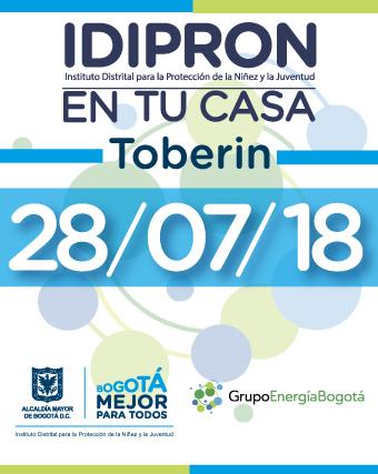 banner invitación 28 de julio IDIPRON en tu casa