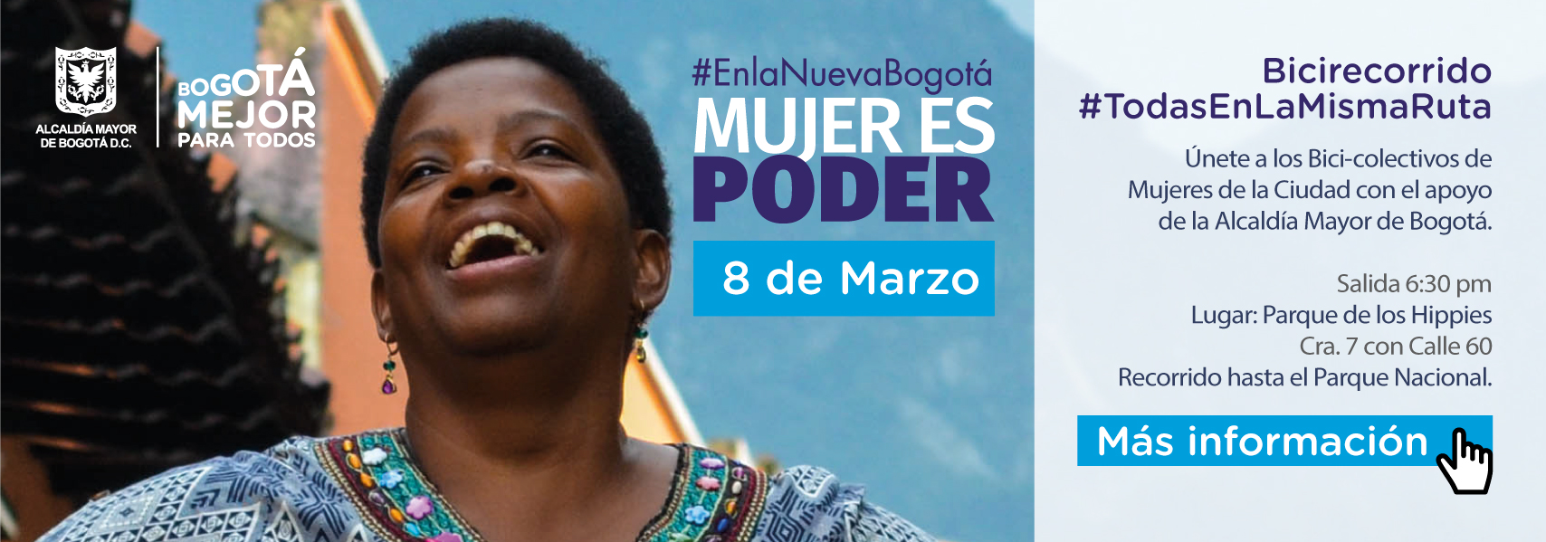 #EnlaNuevaBogotá Mujer es Poder