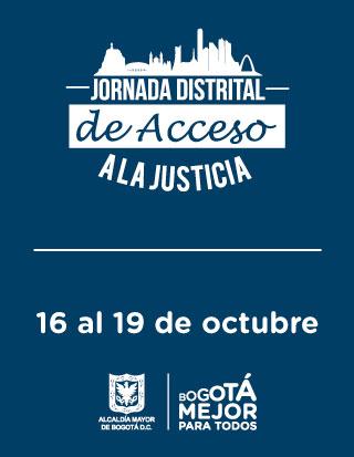 banner Jornada Distrital de Acceso a la Justicia