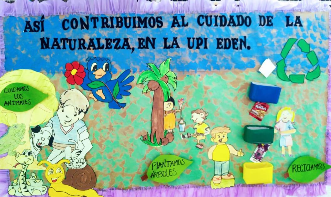 Cartelera Ambiental UPI El Edén