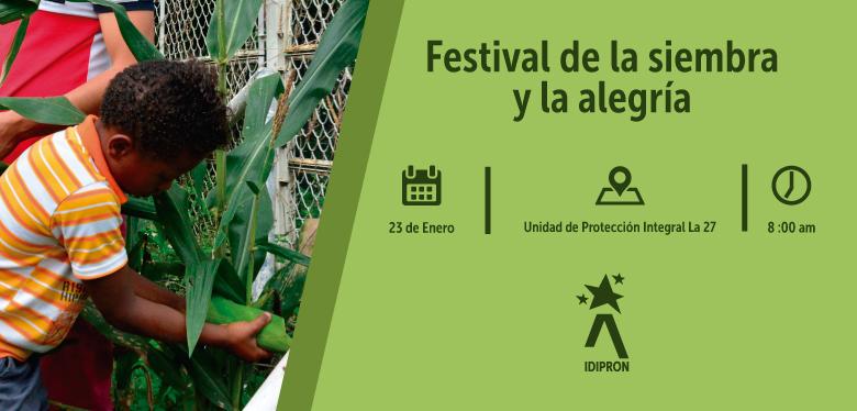 Invitación al Festival de la Siembra