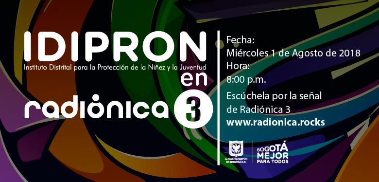 invitación Radiónica IDIPRON