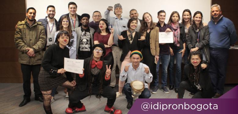 Jóvenes ganadores del Emprender Inspira 2019