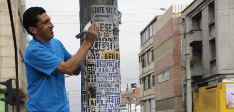 Sigamos todos el ejemplo de limpiar la ciudad