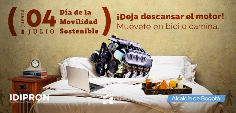 Movilidad sostenible 4 de julio