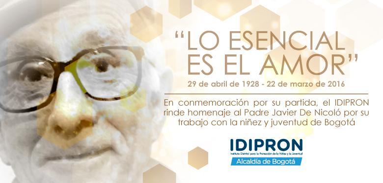 Imagen Javier De Nicoló - Tercer Aniversario de su partida