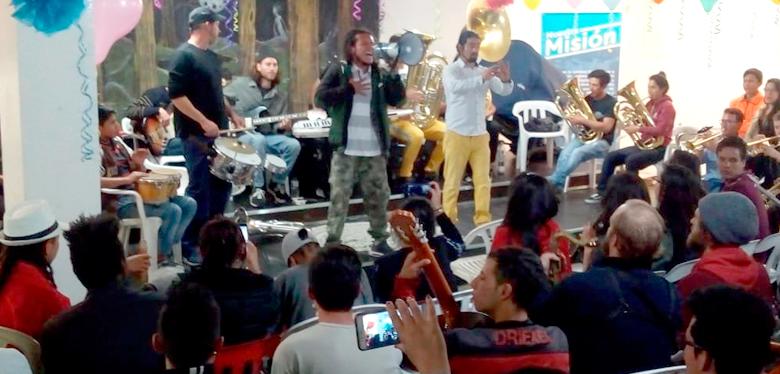 Orquesta de jóvenes del IDIPRON