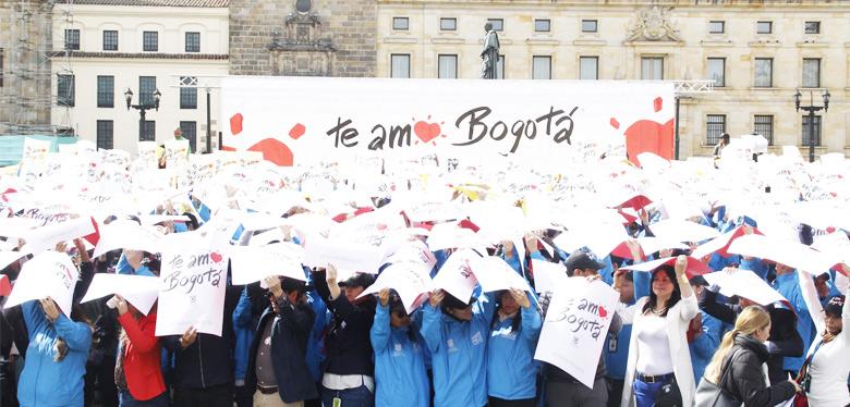 Imagen Te amo Bogotá