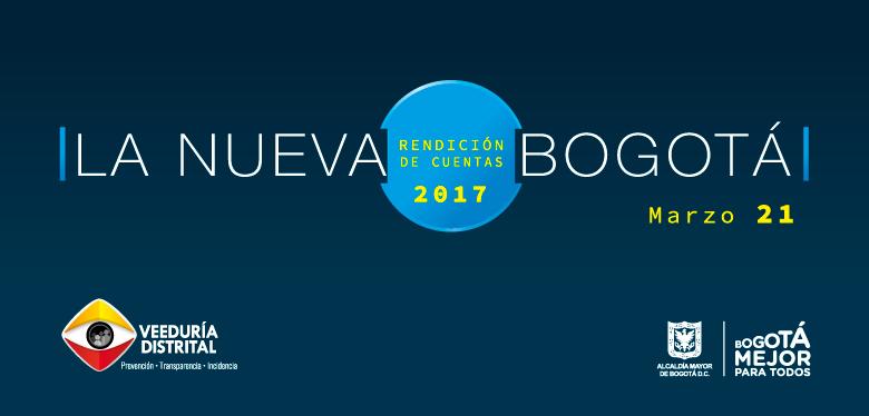 Rendición cuentas 2017 Alcalde Enrique Peñalosa