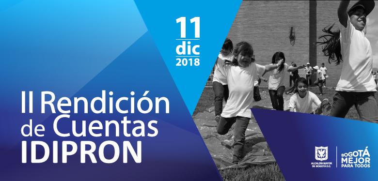 Niños jugando, invitación a rendición de cuentas 11 diciembre