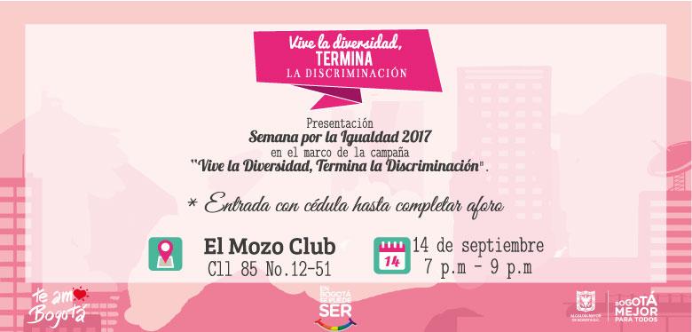 Semana por la igualdad 2017